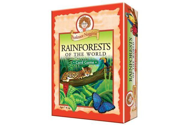 Proffesor Noggins – Rainforests of the World Card Game