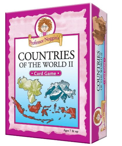 Professor Noggin's Countries of the World II Card Game