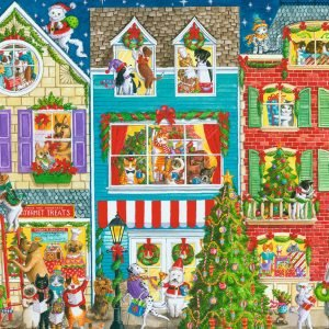 Ravensburger Christmas on Pet Street 1000 Piece Puzzle