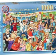 Ravensburger Office Christmas Party 1000 Piece Puzzle