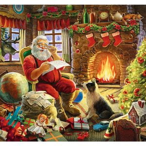 Resting by the Fireplace 1000 Piece Trefl Puzzle