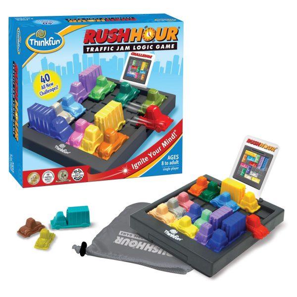 Think Fun – RushHour Traffic Jam Logic Game
