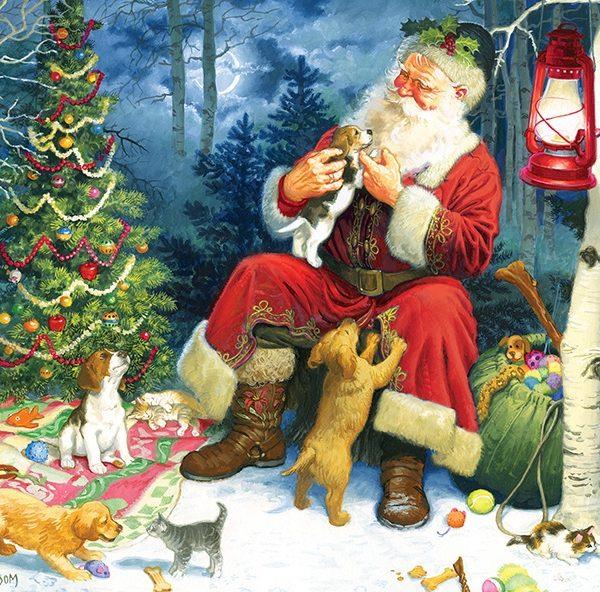 Santa's Pets 60 Piece Children's Puzzle