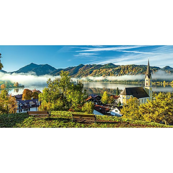 Schliersee Lake Panorama 1000 Piece Puzzle