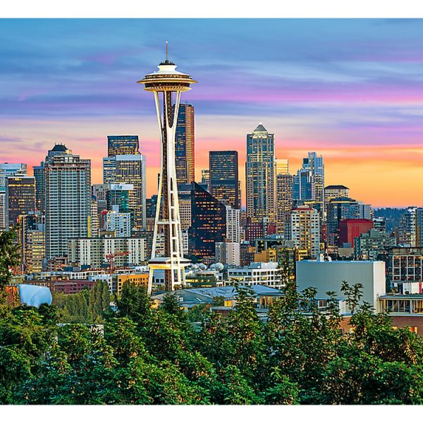 Space Needle Seattle USA 1500 Piece Jigsaw Puzzle