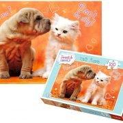 Sweet & Lovely Hugs & Kisses Children's Puzzle