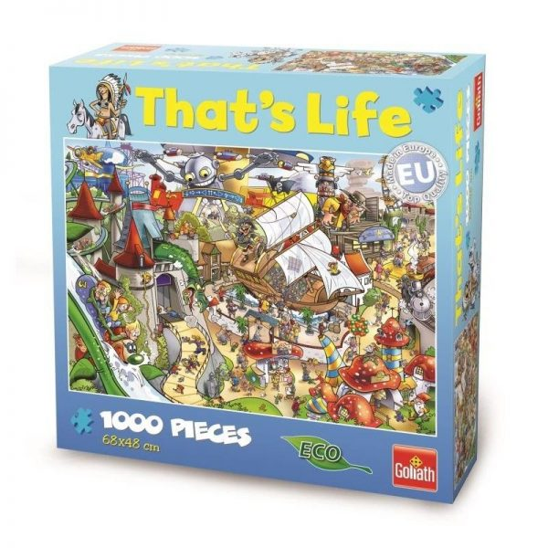 That's Life - Theme Park 1000 Piece Puzzle