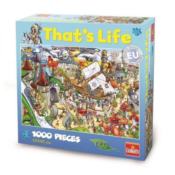 That's Life – Theme Park 1000 Piece Puzzle