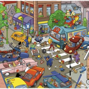 That's Life - Traffic 1000 Piece Puzzle