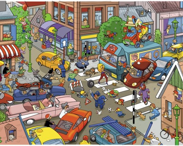 That's Life – Traffic 1000 Piece Puzzle