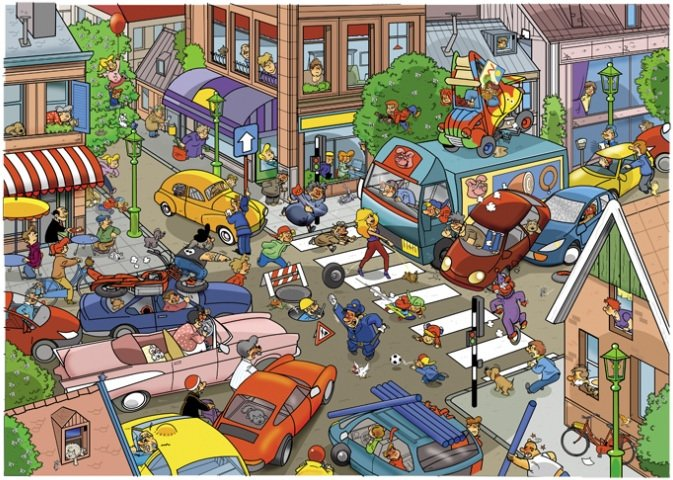 thats life traffic 1000 piece puzzle jpg