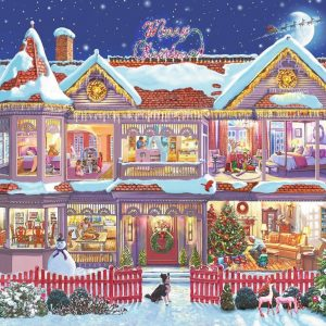 The Christmas House Ravensburger 500 Piece Puzzle