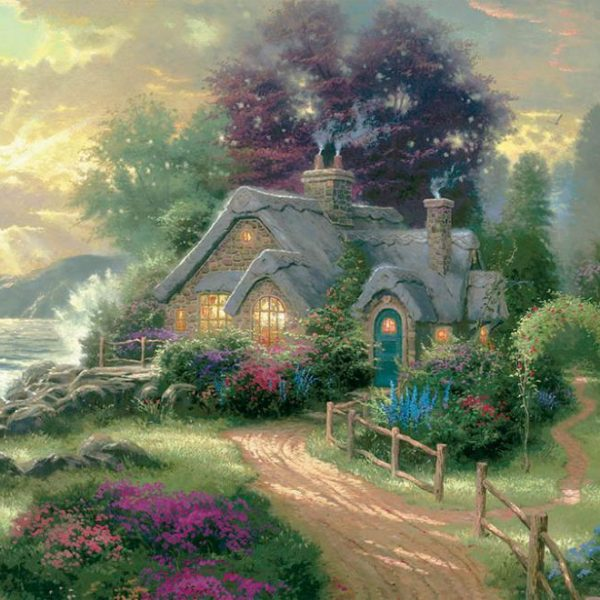 Thomas Kinkade – A new Day Dawning 1500 Piece Puzzle