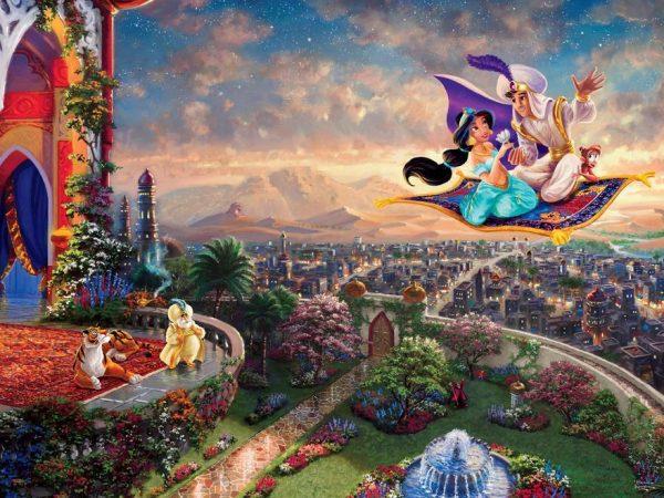 Thomas Kinkade - Disney Dreams - Aladdin 750 Piece Ceaco Puzzle