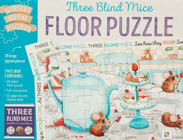 Three Blind Mice Floor Puzzle - Hinkler