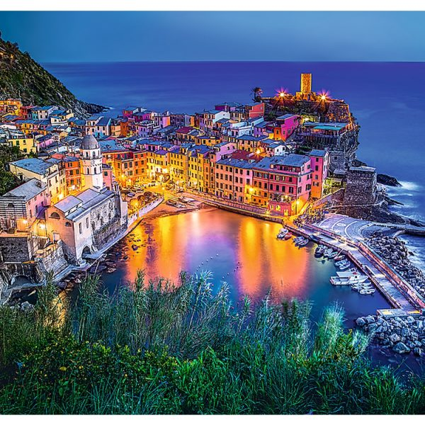Vernazza at Dusk 2000 Piece Jigsaw Puzzle