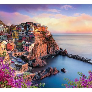 View of Manarola, Italy 1500 Piece Trefl Puzzle