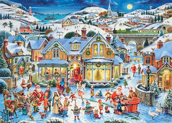 Which One's Santa 1000 Piece Ravensburger Puzzle