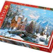 Winter Landscape 1000 Piece Trefl Puzzle