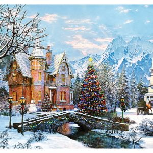 Winter Landscape 1000 Piece Trefl Puzzle