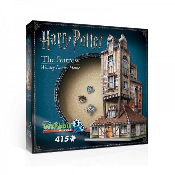 Harry Potter the Burrow - Weasley Family Home 415 Piece Puzzle