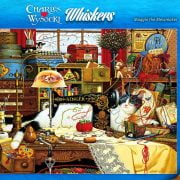 Wysocki Whiskers - Maggie the Messmaker 1000 Piece Puzzle - Holdson