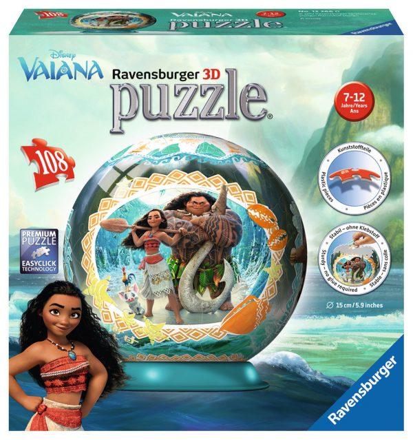 Disney Vaiana (Moana) 3D Ravensburger 108 Piece Puzzle