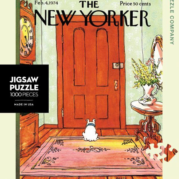 Dog Behind the Door 1000 Piece Puzzle