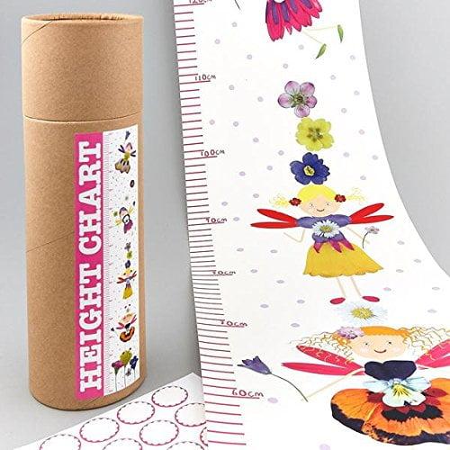 Floss & Rock Height Chart Petal Fairy