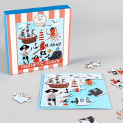 Magnetic Puzzle - Pirate 25 Piece
