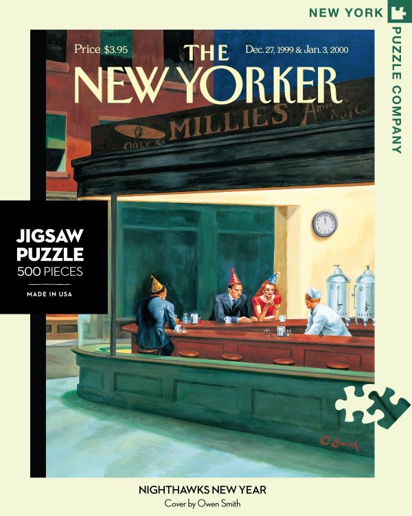 Nighthawks New Year 500 Piece Puzzle