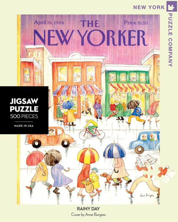 Rainy Day 500 Piece Puzzle