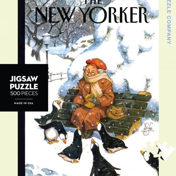 Snow Birds 500 Piece Jigsaw Puzzle