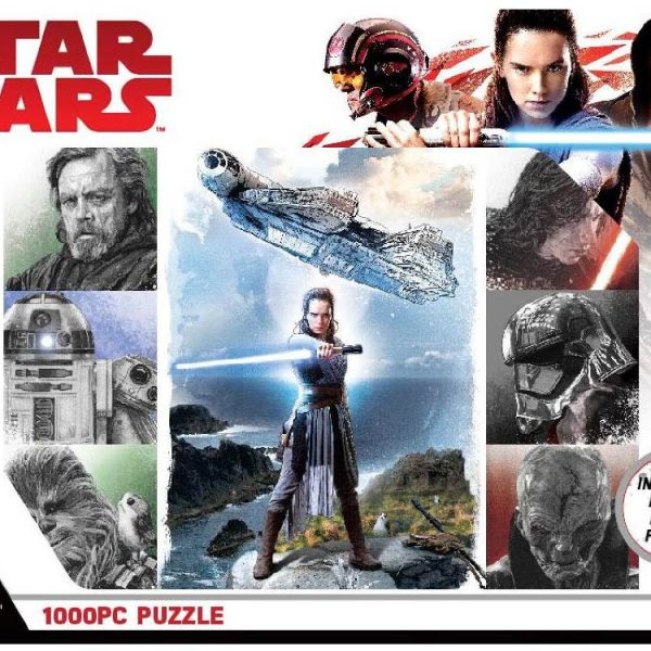 Disney – Star Wars – The Last Jedi 1000 Piece Puzzle