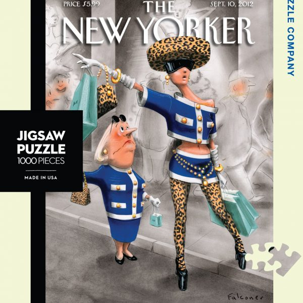 Stiff Competition 1000 Piece Puzzle