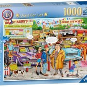 The Best of British No 18 - Used Car Lot 1000 Piece Puzzle