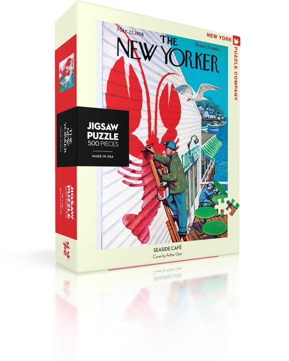 The New Yorker - Seaside Cafe 500 Piece Puzzle