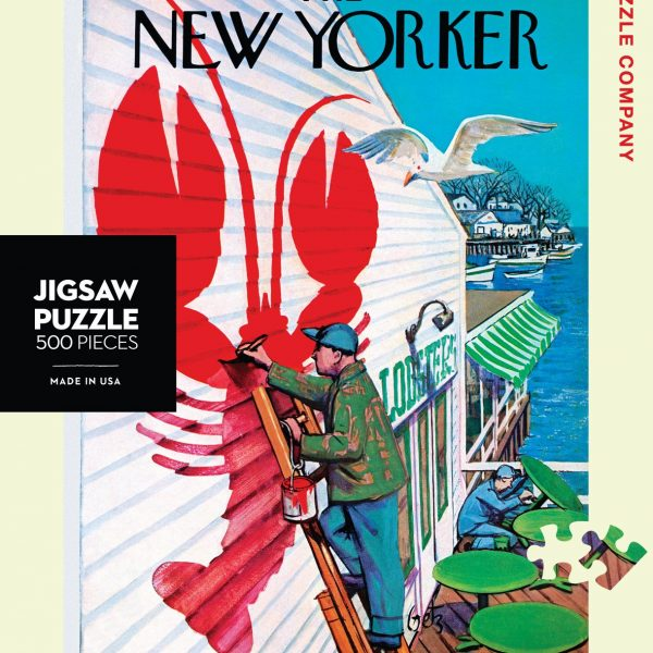 The New Yorker – Seaside Cafe 500 Piece Puzzle