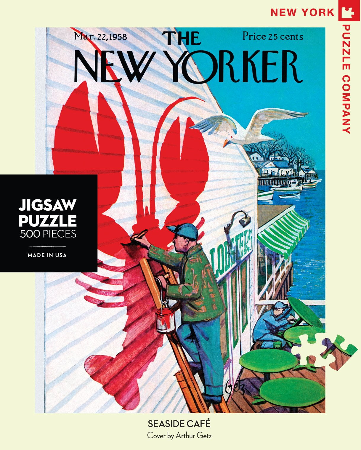 New York And Company Credit Card Payment >> THE NEW YORKER - SEASIDE CAFE 500 PIECE PUZZLE