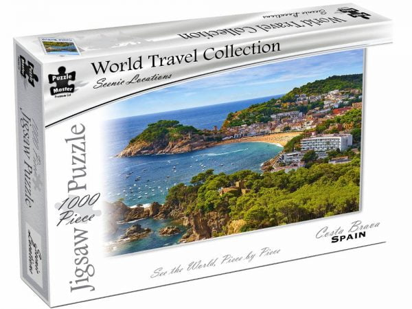World Travel Collection - Costa Brava Spain 1000 Piece Puzzle