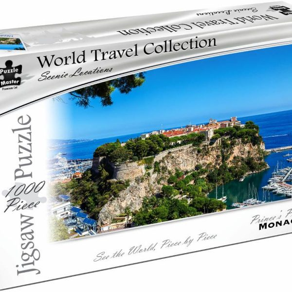 World Travel Collection – Prince's Palace Monaco 1000 Piece Puzzle