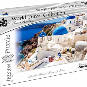World Travel Collection - Santorini Greece 1000 Piece Puzzle