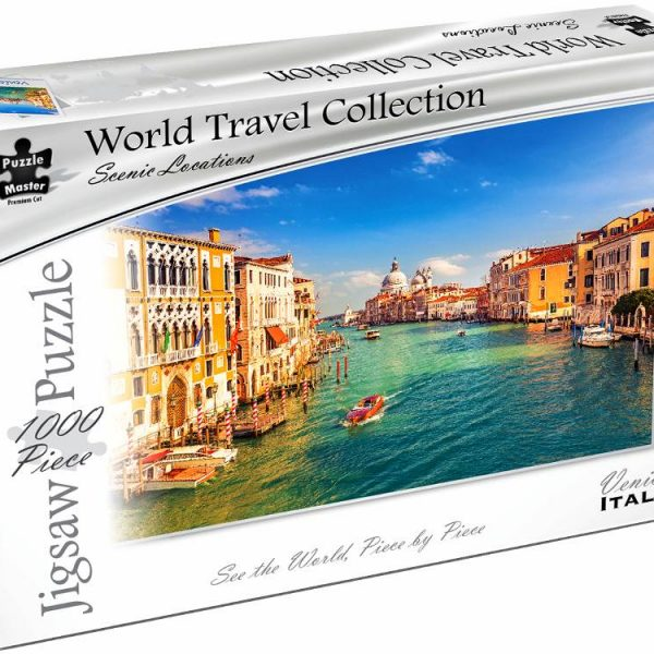World Travel Collection – Venice Italy 1000 Piece Puzzle
