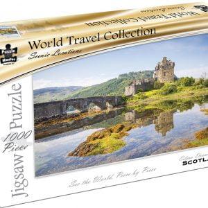 World Travel Collection - Eilean Donan Castle Scotland 1000 Piece Puzzle