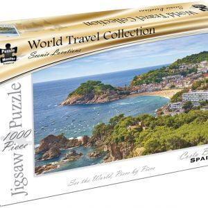 World Travel Collection - Costa Brava Spain1000 Piece Puzzle