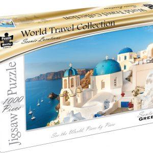 World Travel Collection - Santorini Greece 1000 Piece Puzzle