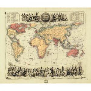 19th Century British Empire Map 1000 Piece