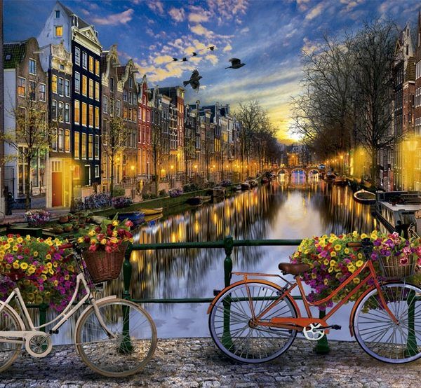 Amsterdam with Love 2000 Piece Puzzle by Educa