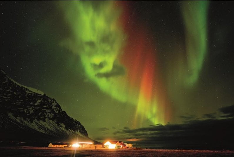 angry aurora iceland by tom mackie 1000 piece puzzle