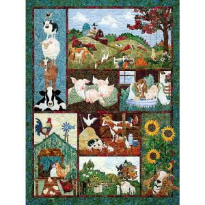 Back on the Farm 500 Piece Cobble Hill Puzzle